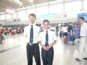成都雙流機場安檢就業學生