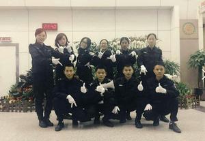 拉薩機場安檢就業學生